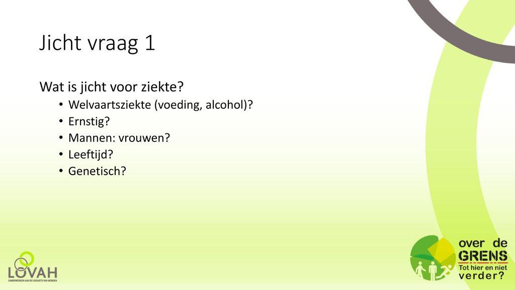 jicht en alcohol