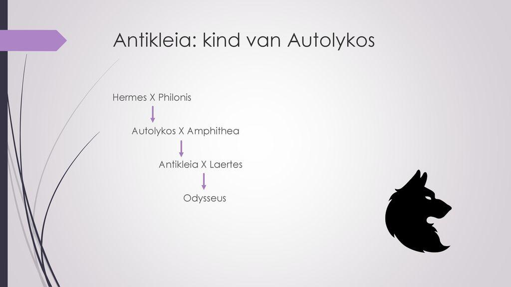Antikleia: kind van Autolykos