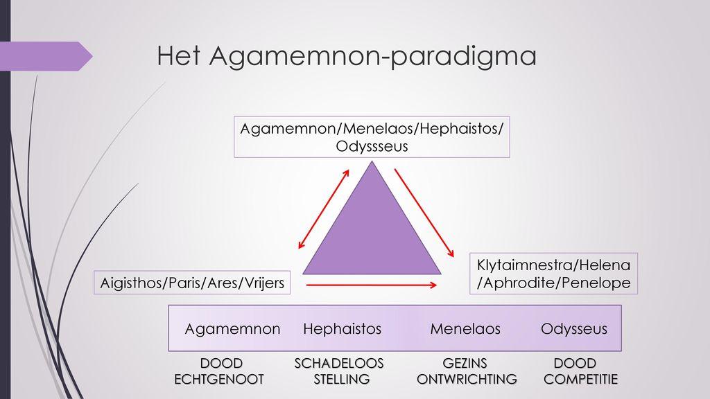 Het Agamemnon-paradigma
