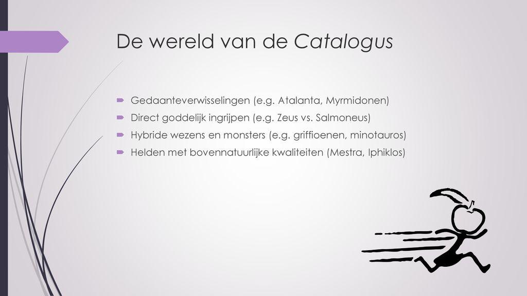 De wereld van de Catalogus