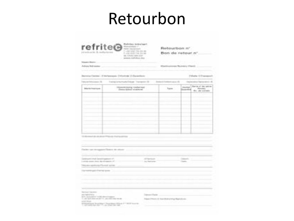 Retourbon