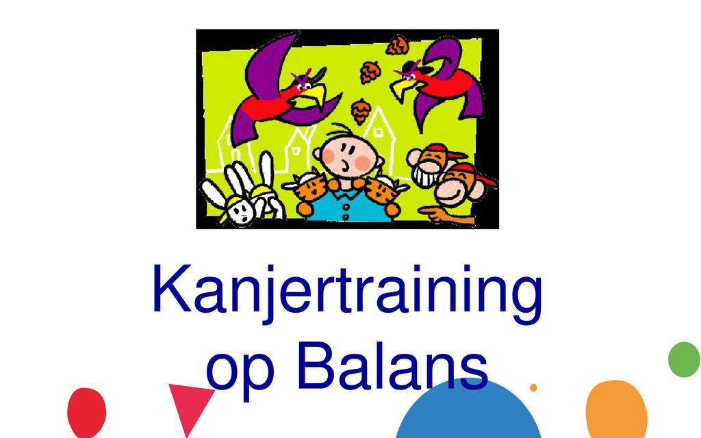 gele pet kanjertraining