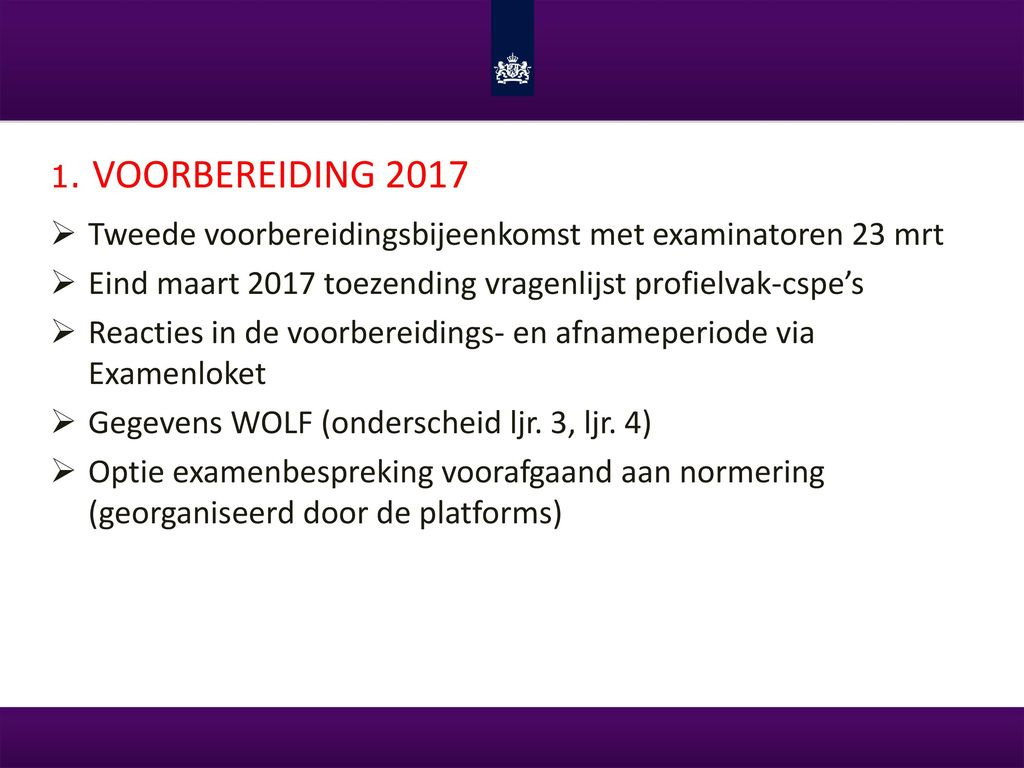 examen normering 2017