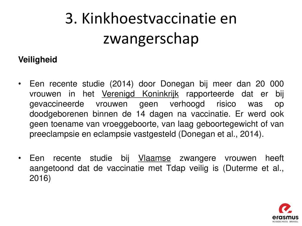 schijf na vaccinatie