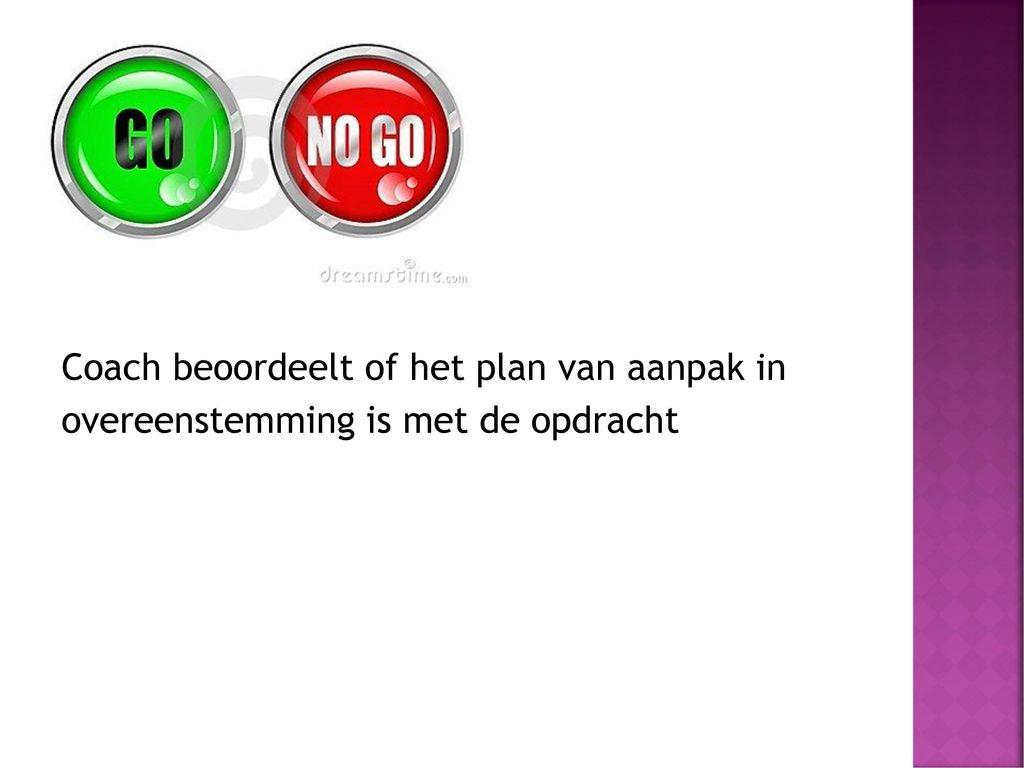 Plan van Aanpak Werken in stappen.   ppt download