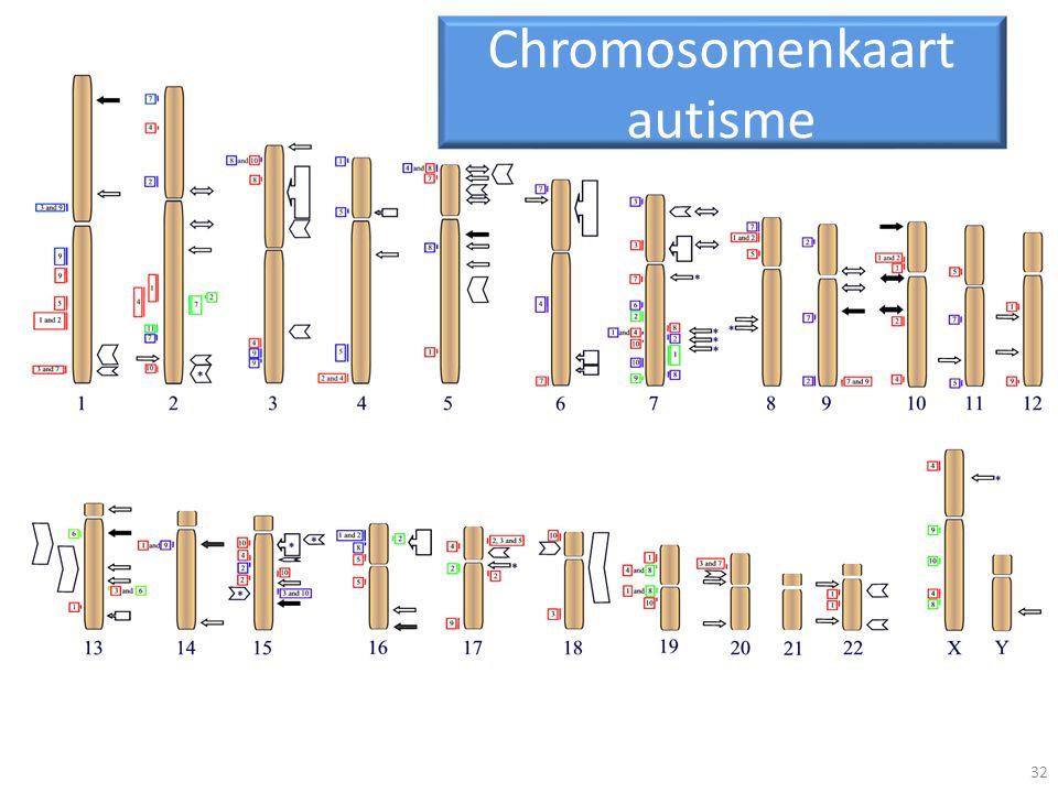 Chromosomenkaart autisme