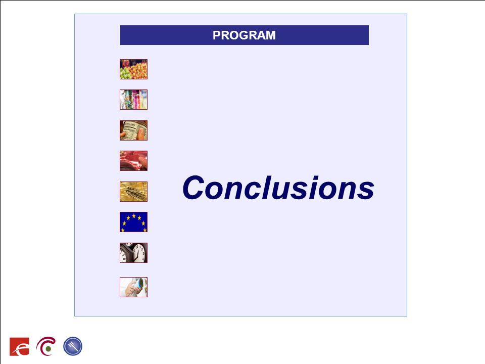 PROGRAM Conclusions