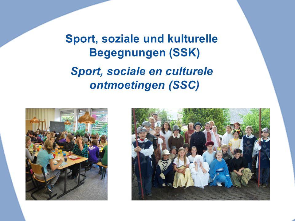 Sport, soziale und kulturelle Begegnungen (SSK)