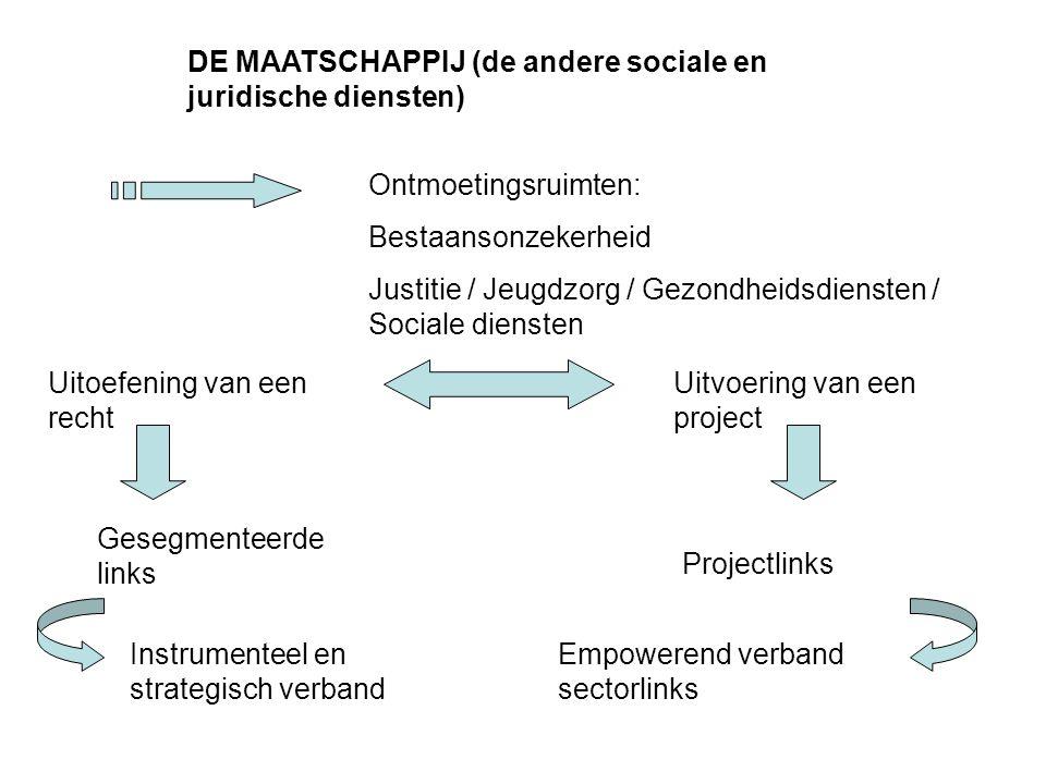 DE MAATSCHAPPIJ (de andere sociale en juridische diensten)
