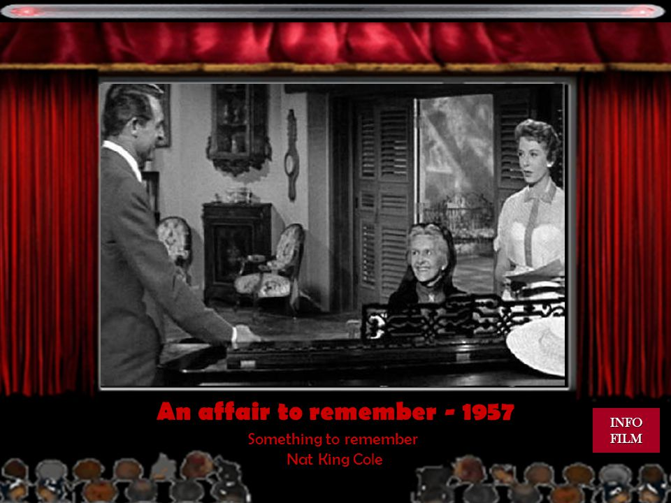 An affair to remember - 1957 Something to remember Nat King Cole INFO