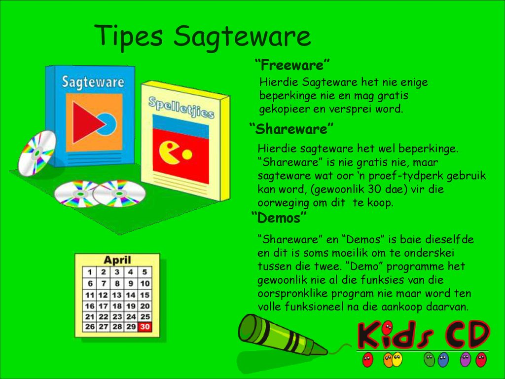 Tipes Sagteware Freeware Shareware Demos