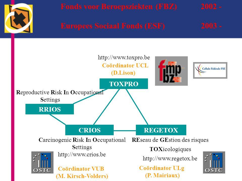Fonds voor Beroepsziekten (FBZ) 2002 -