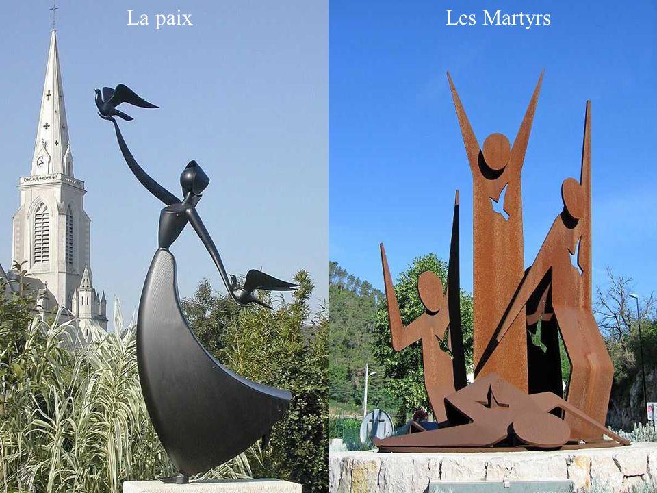 La paix Les Martyrs