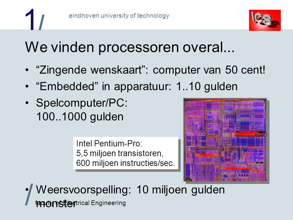 We vinden processoren overal...