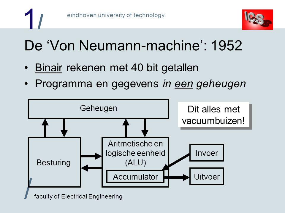 De 'Von Neumann-machine': 1952
