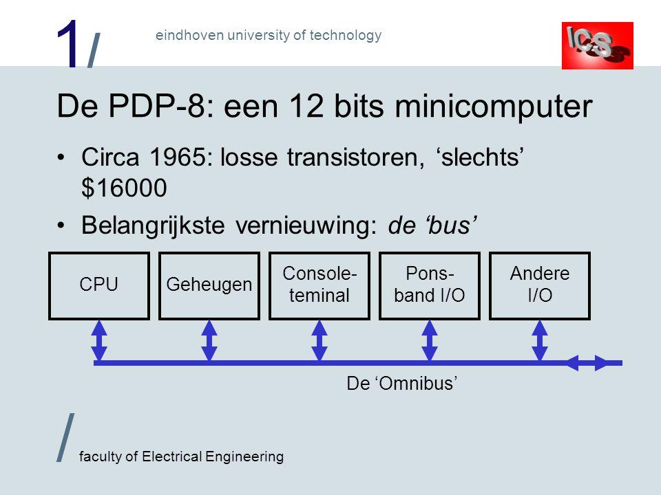 De PDP-8: een 12 bits minicomputer