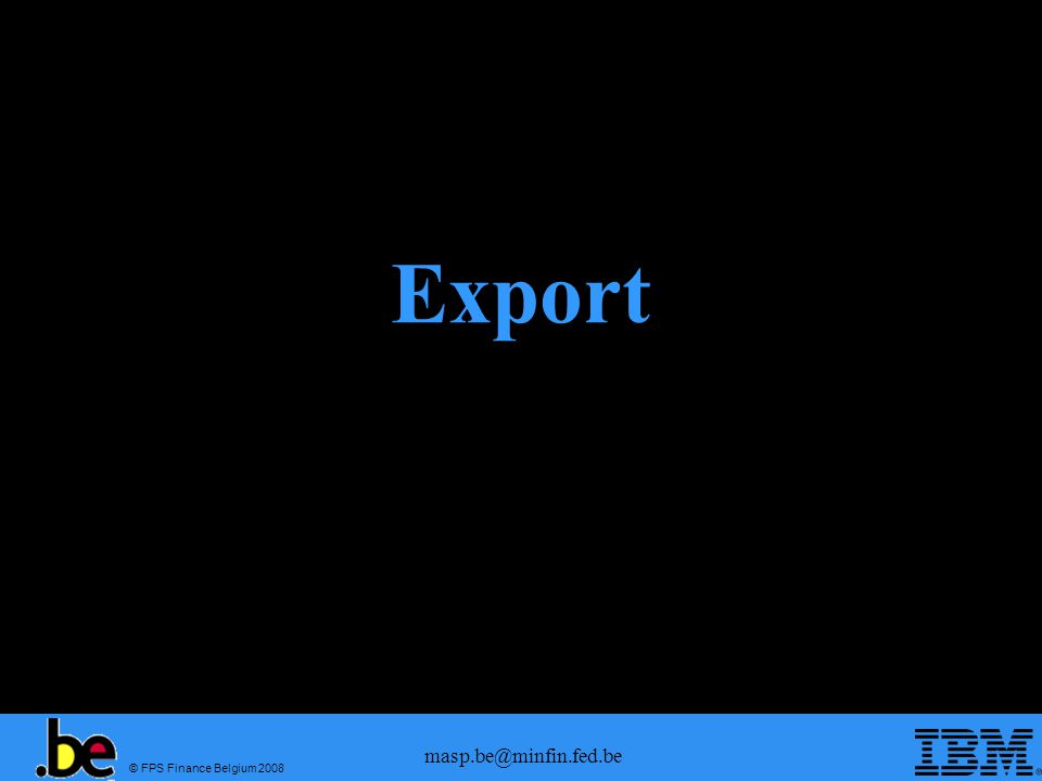 Export masp.be@minfin.fed.be