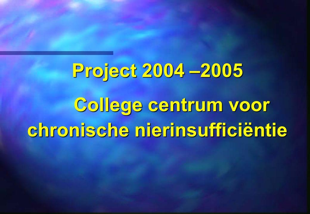 College centrum voor chronische nierinsufficiëntie