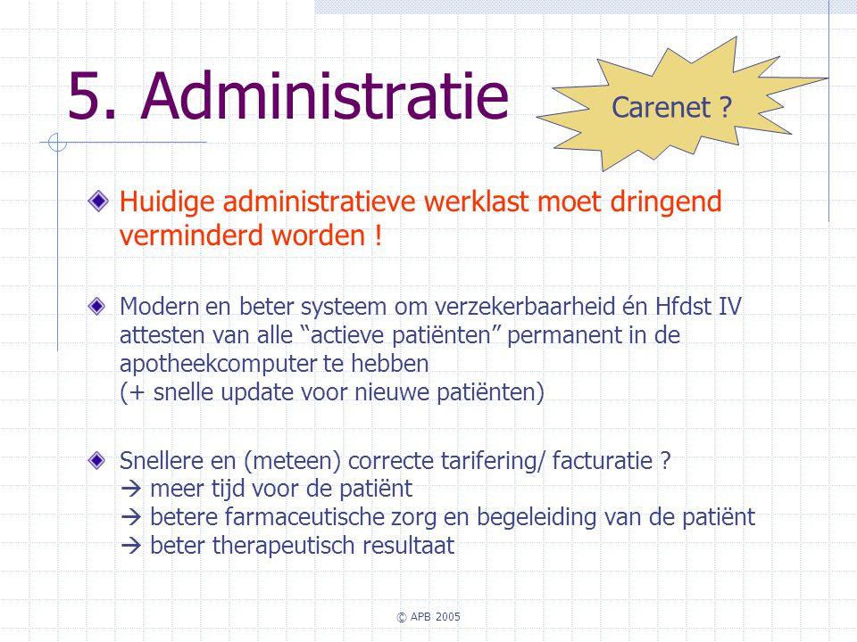 5. Administratie Carenet