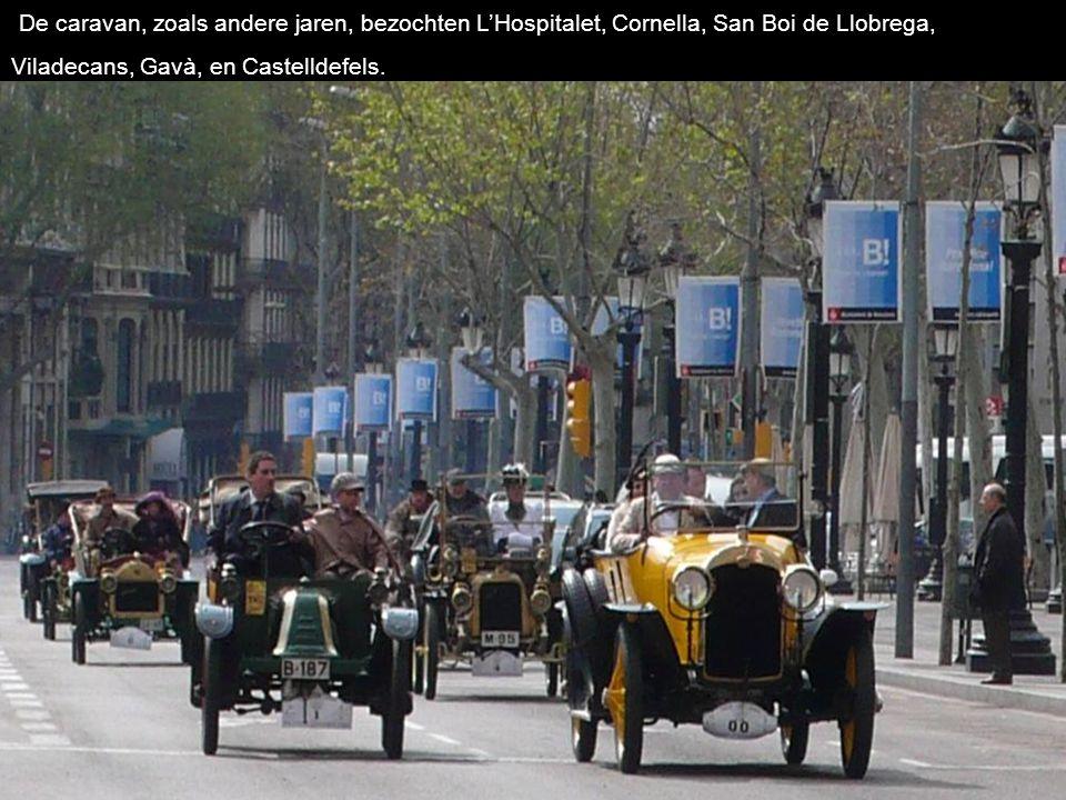 De caravan, zoals andere jaren, bezochten L'Hospitalet, Cornella, San Boi de Llobrega,