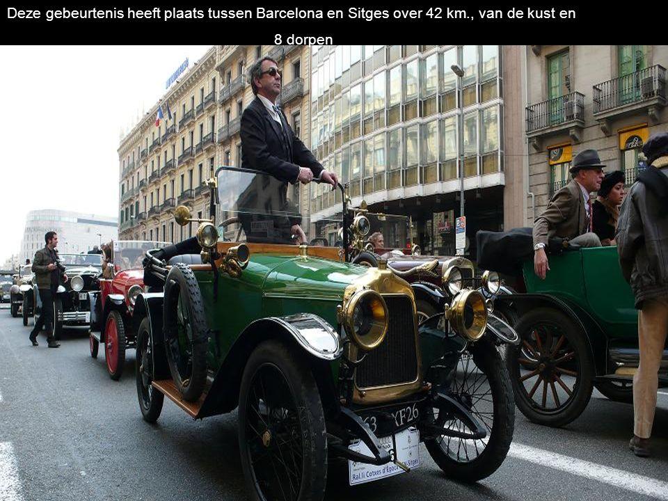Deze gebeurtenis heeft plaats tussen Barcelona en Sitges over 42 km
