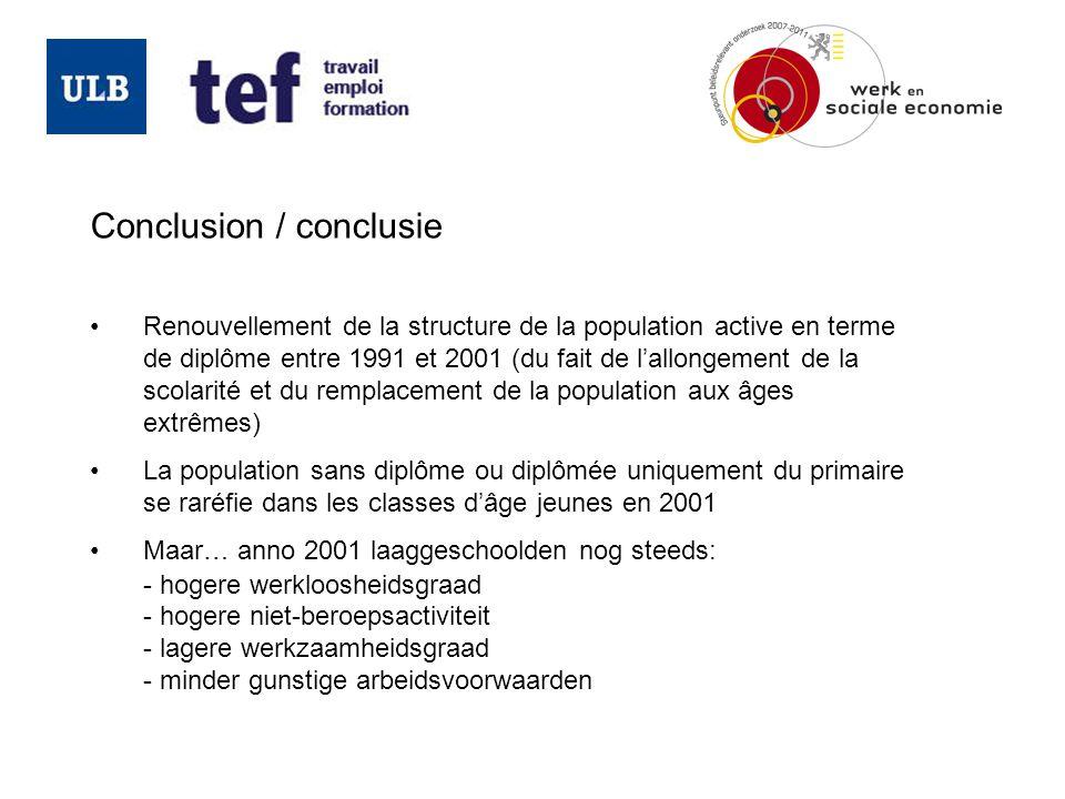 Conclusion / conclusie
