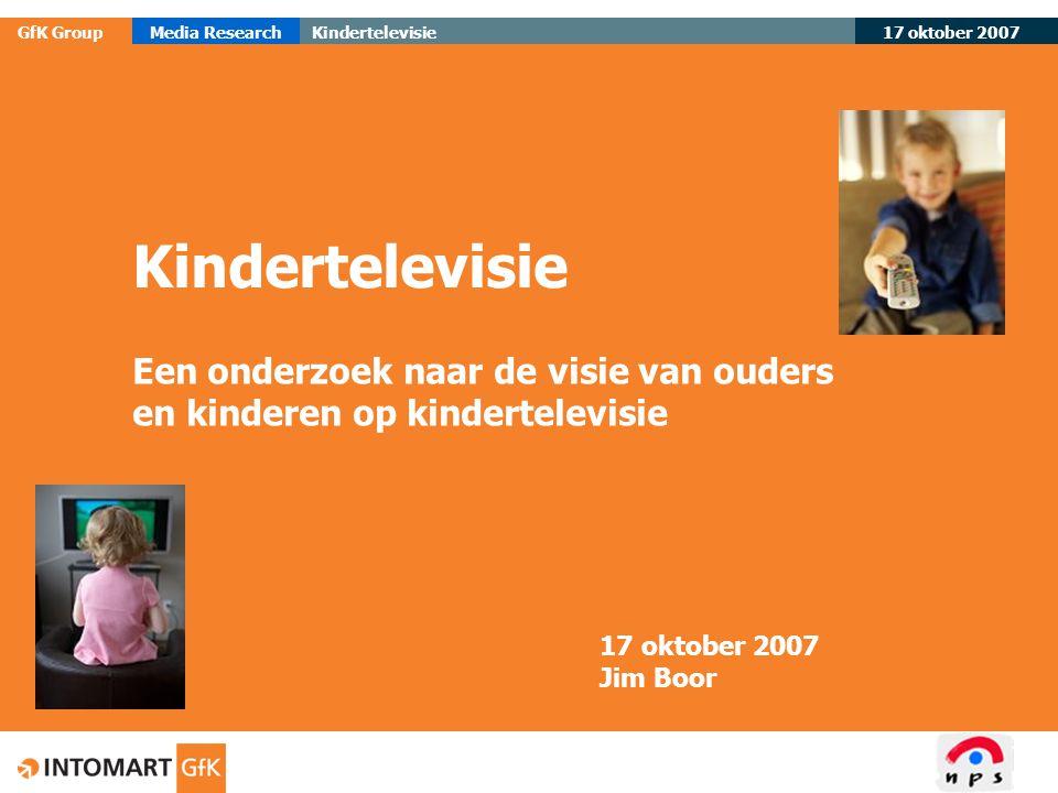 Een onderzoek naar de visie van ouders en kinderen op kindertelevisie