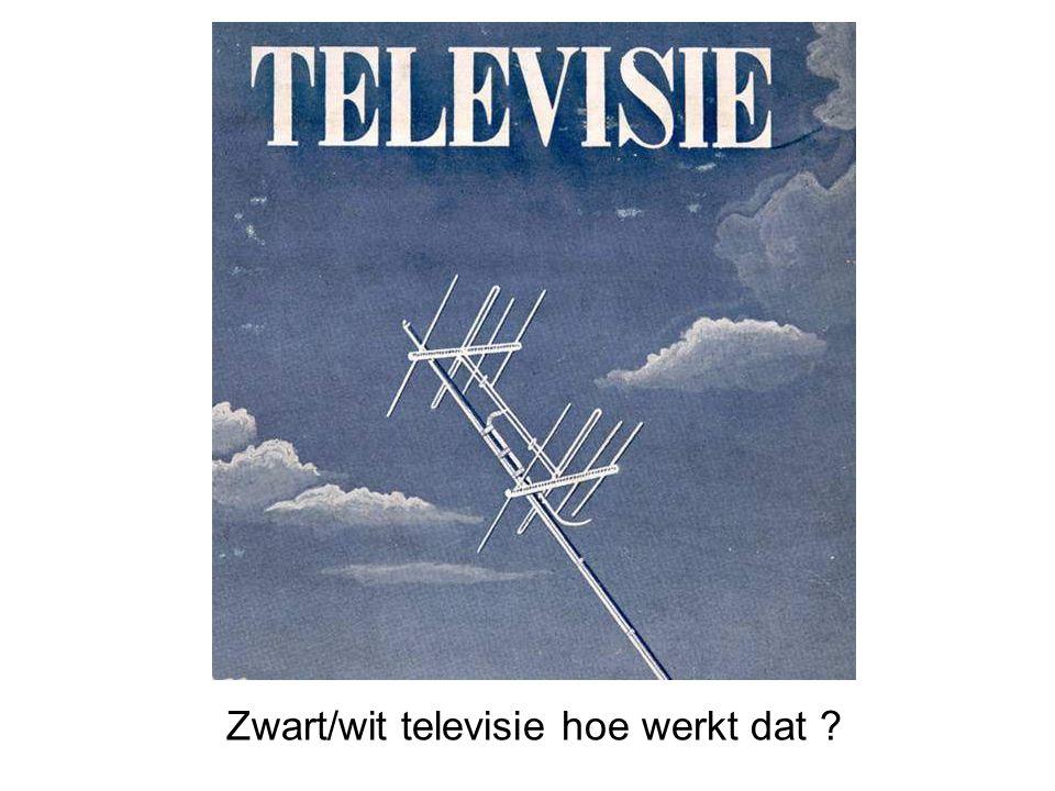 Zwart/wit televisie hoe werkt dat