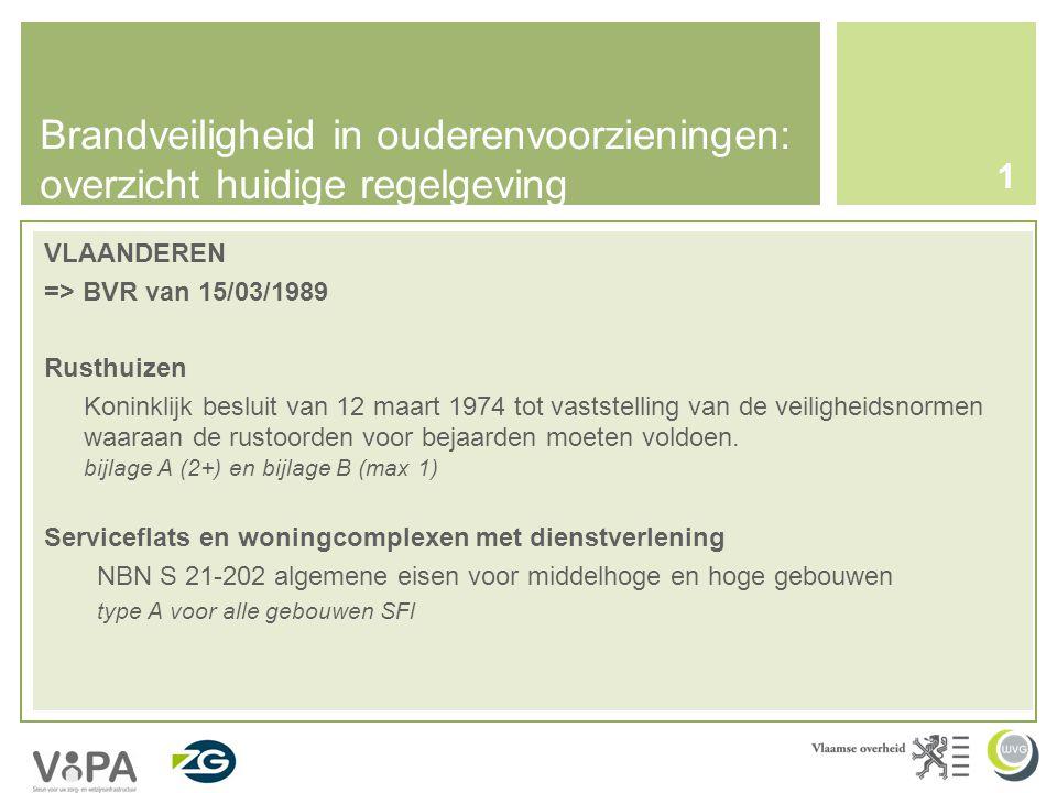 Brandveiligheid in ouderenvoorzieningen: overzicht huidige regelgeving