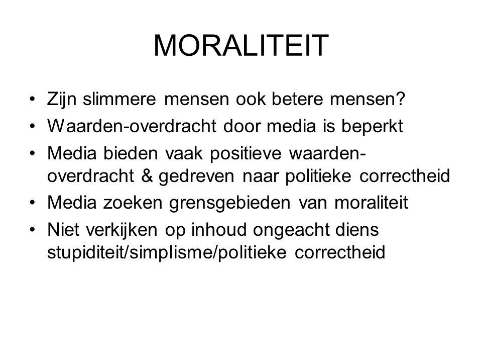 MORALITEIT Zijn slimmere mensen ook betere mensen