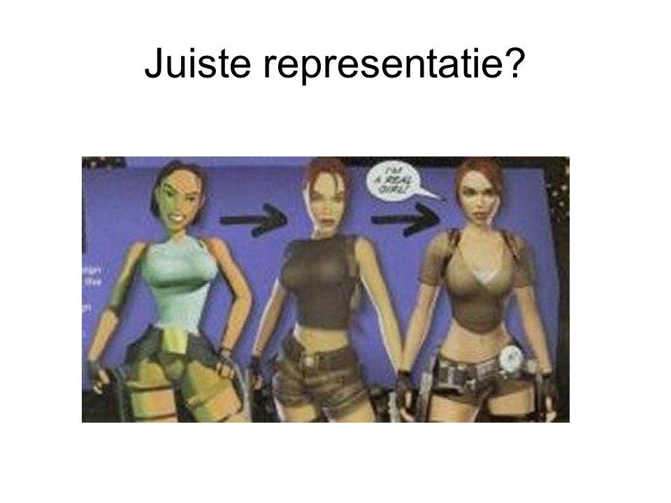 Juiste representatie