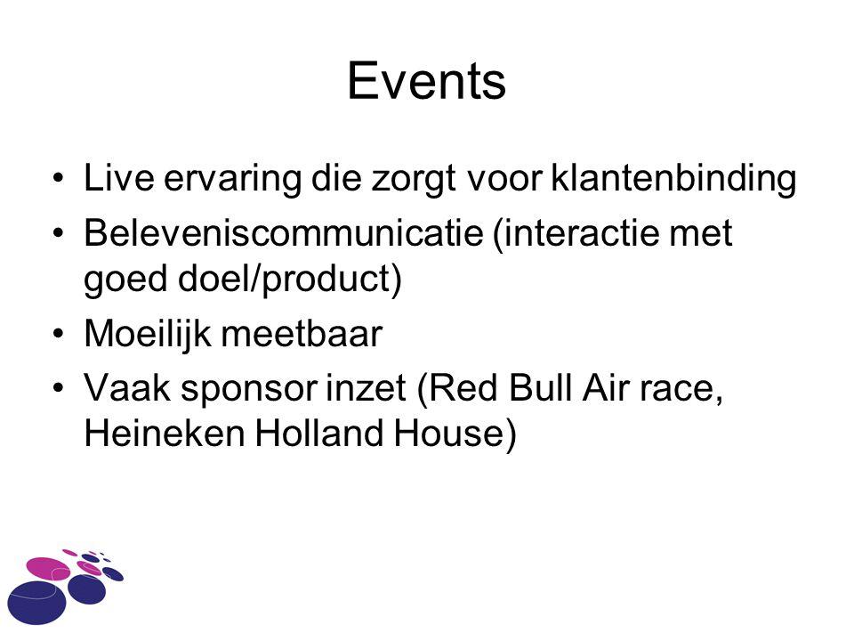 Events Live ervaring die zorgt voor klantenbinding
