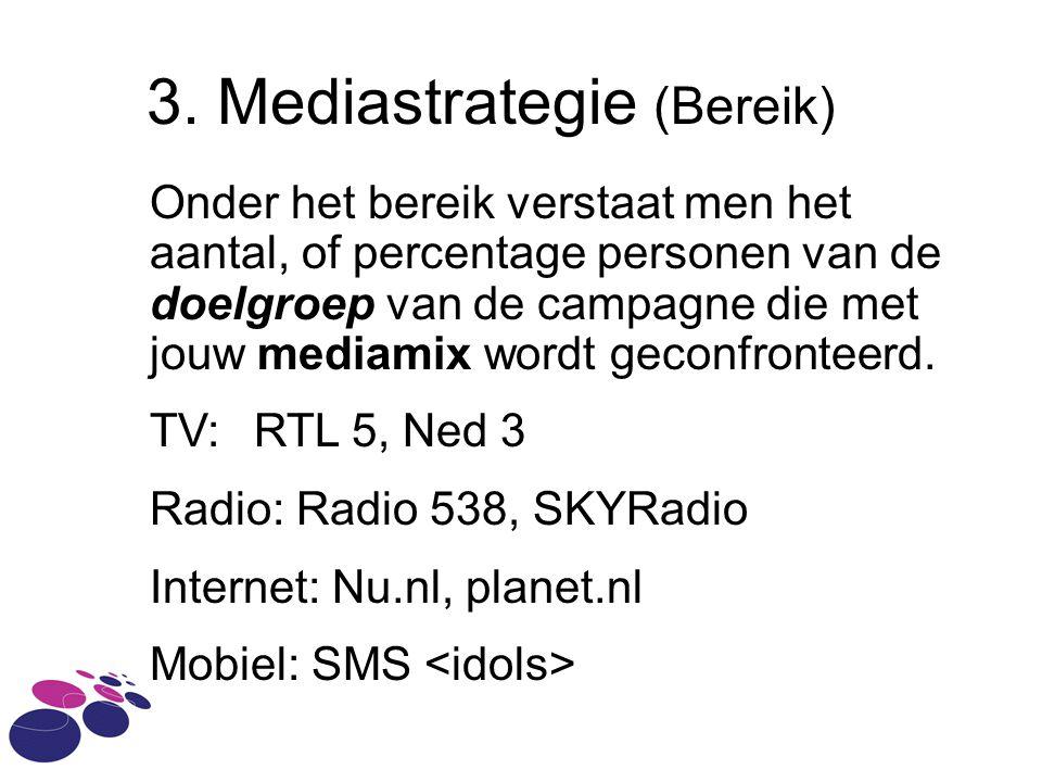 3. Mediastrategie (Bereik)