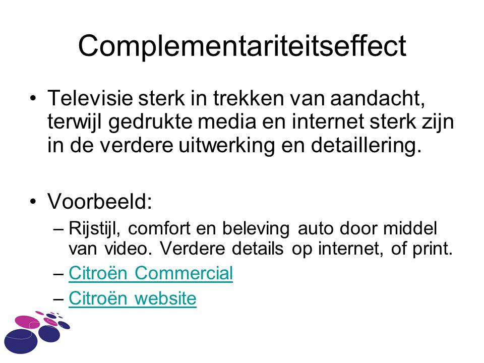 Complementariteitseffect