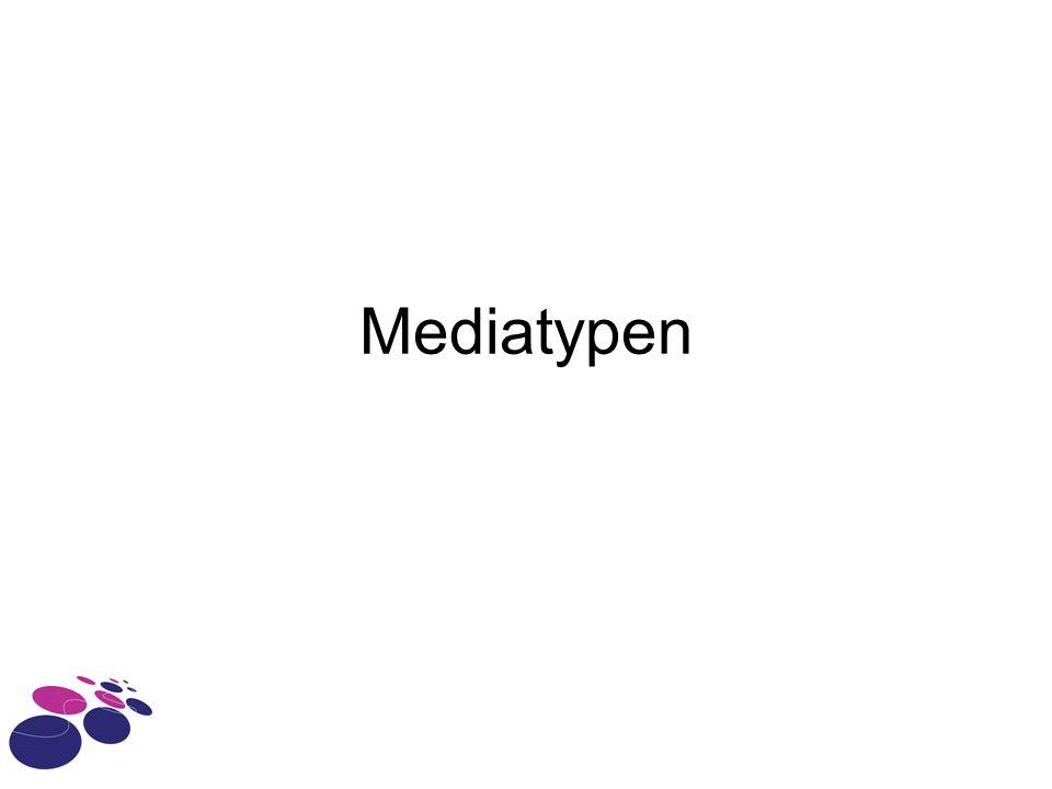 Mediatypen
