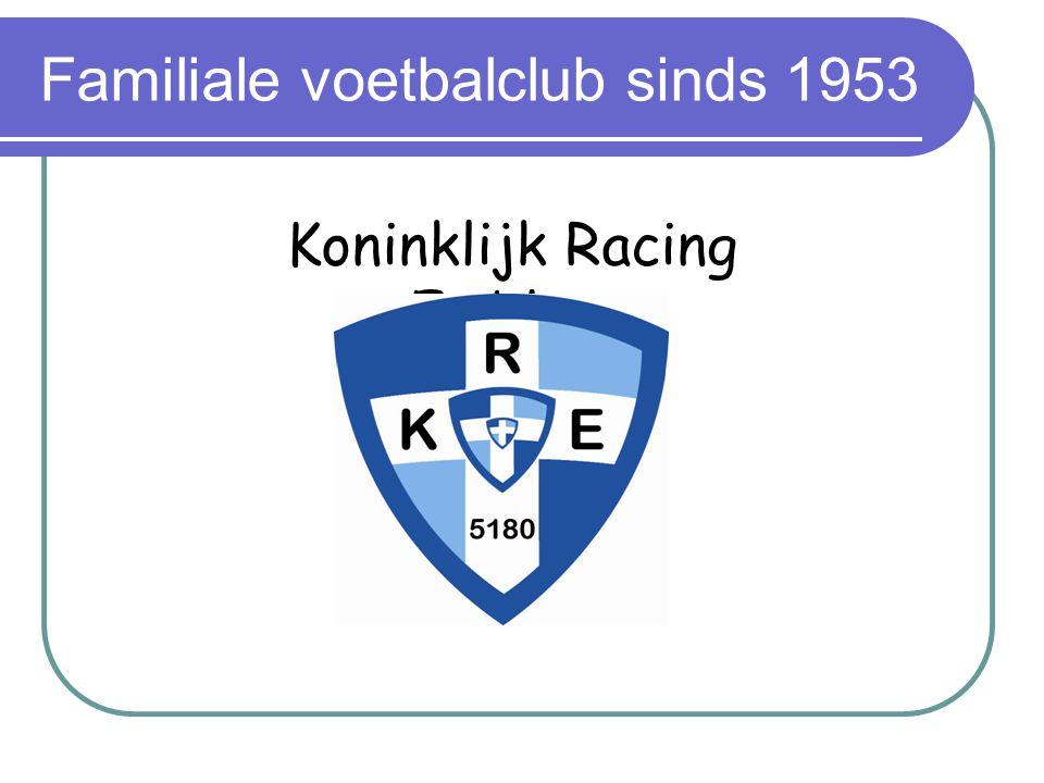 Familiale voetbalclub sinds 1953