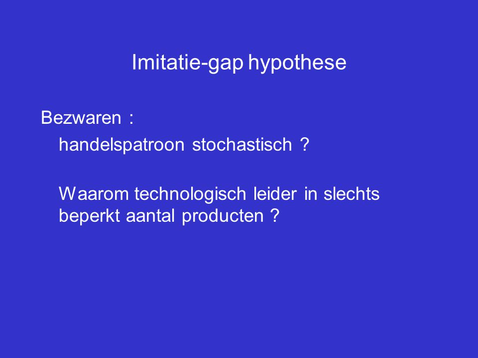 Imitatie-gap hypothese