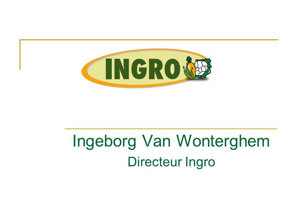 Ingeborg Van Wonterghem Directeur Ingro