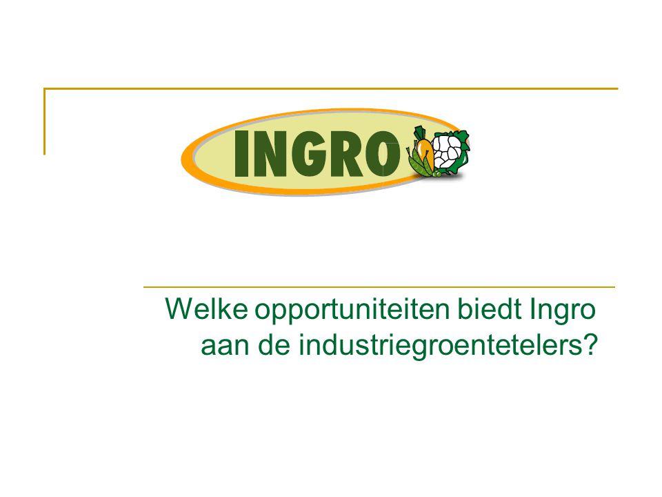 Welke opportuniteiten biedt Ingro aan de industriegroentetelers