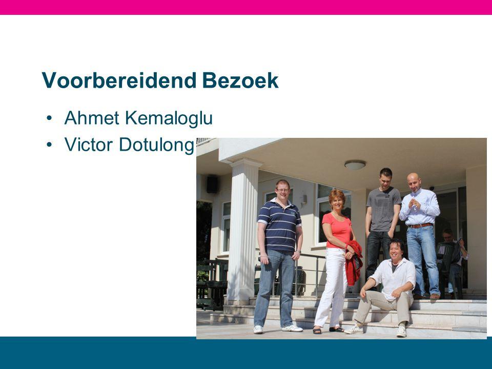 MBO landstede Voorbereidend Bezoek Ahmet Kemaloglu Victor Dotulong