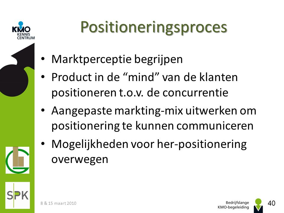 Positioneringsproces