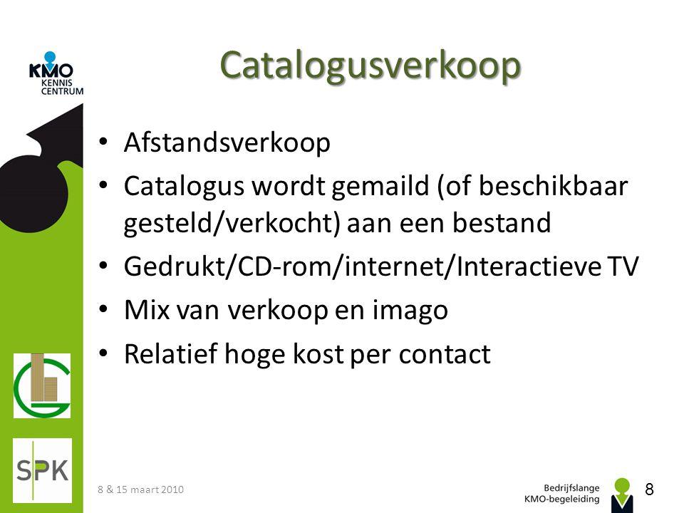 Catalogusverkoop Afstandsverkoop
