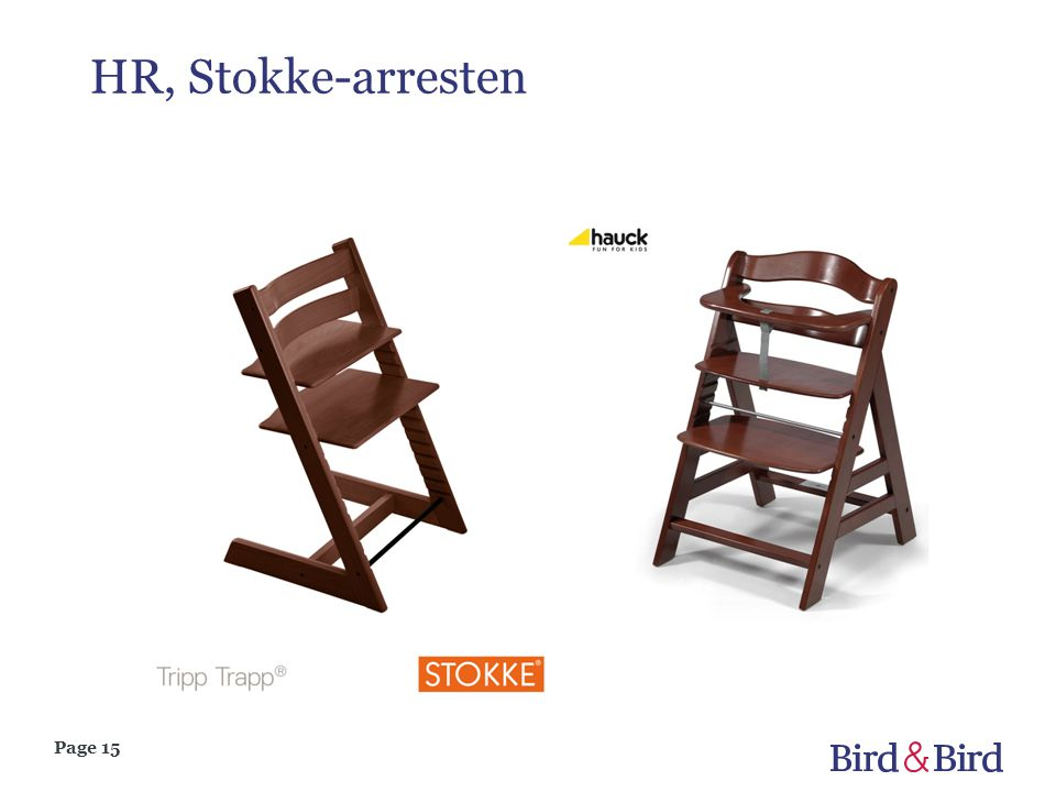 HR, Stokke-arresten