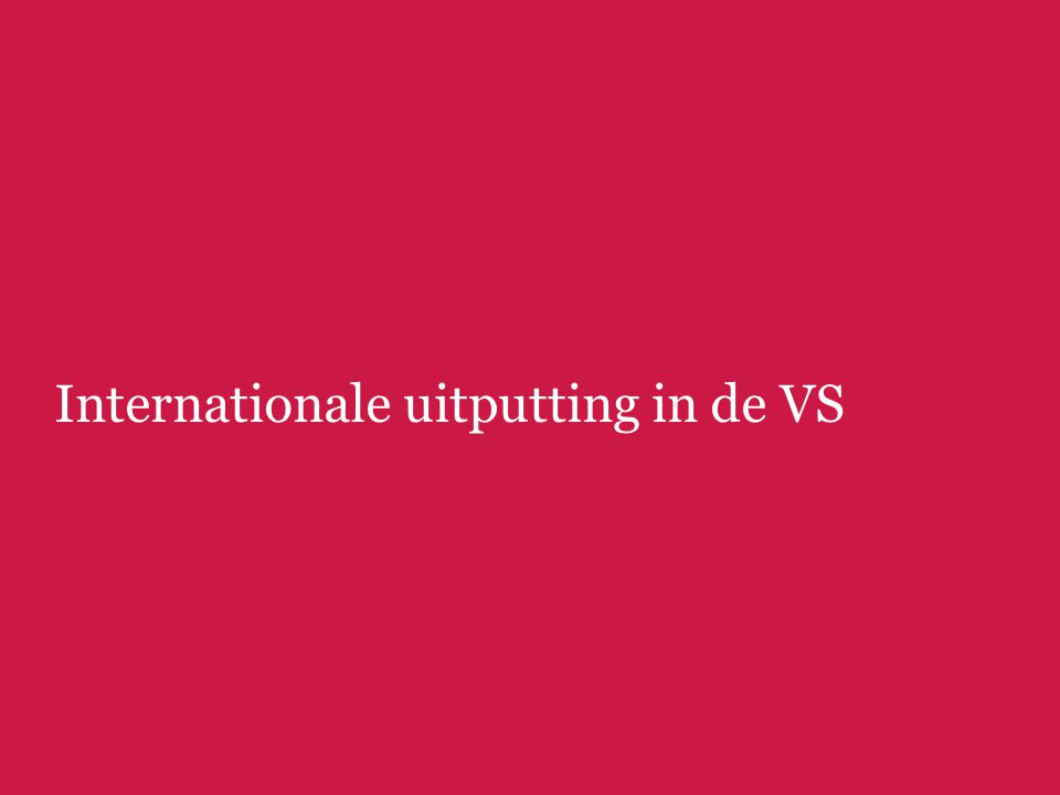 Internationale uitputting in de VS