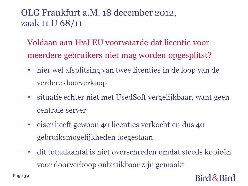 OLG Frankfurt a.M. 18 december 2012, zaak 11 U 68/11
