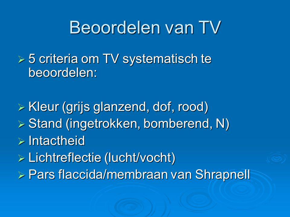 Beoordelen van TV 5 criteria om TV systematisch te beoordelen: