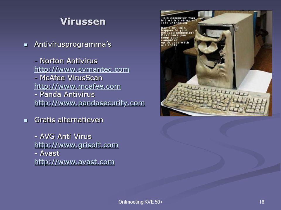Virussen Antivirusprogramma's - Norton Antivirus