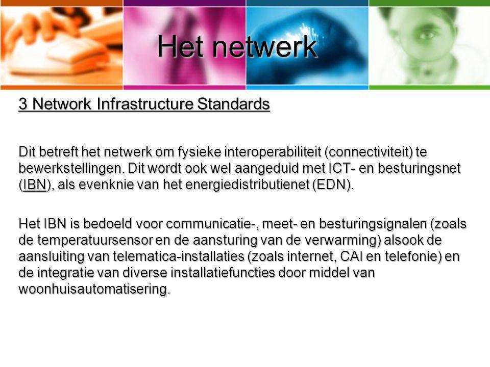 Het netwerk 3 Network Infrastructure Standards