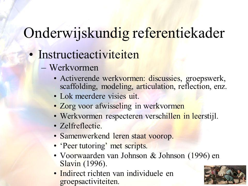 Onderwijskundig referentiekader