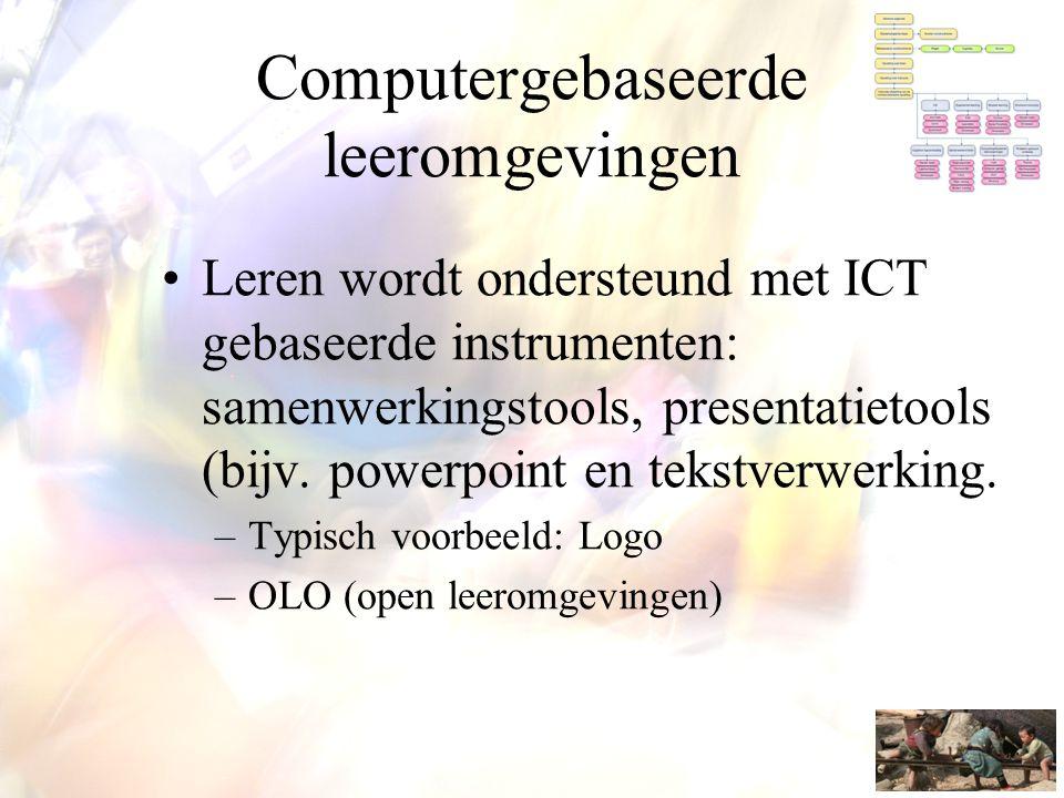 Computergebaseerde leeromgevingen